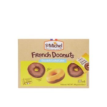 St Michel French Donut Choc Coatd 180g