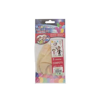Balloon Confeti- 3 pcs pack.