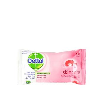 Dettol Skin Wipes Sensitive Antibacterial 10pcs