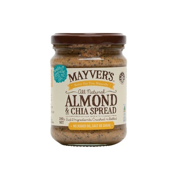 Mayvers Almond And Chia Spread 240g