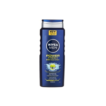 Nivea Men Shower Power Fresh 500ml