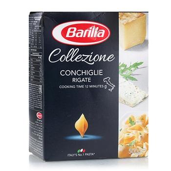 Barilla Conchiglie Rigate Pasta 500g