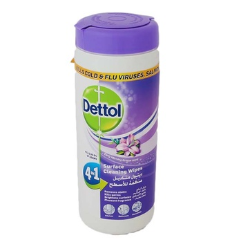 Dettol Surface Wipes 4 In 1 Lavender 35s