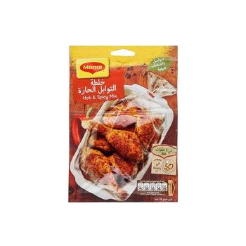 Maggi Juicy Chicken Hot & Spicy 34g