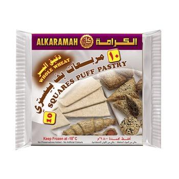 Al Karamah Puff Pastry Whole Wheat 400g
