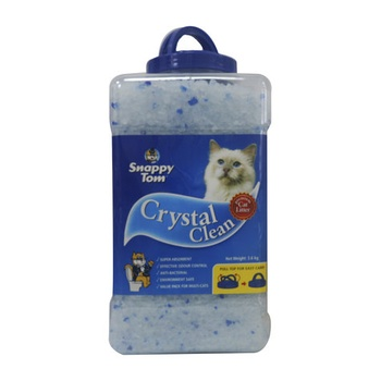 Snappy Tom Crystal Clean Cat Litter 3.6kg