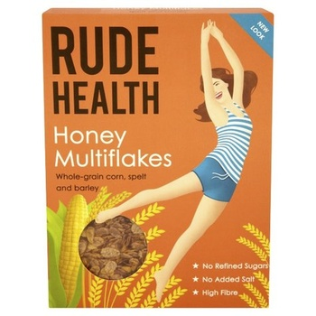 Rude Health Flakes - Honey Multiflakes 425g
