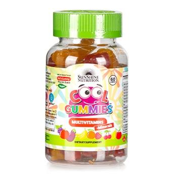 Sunshine Nutrition Cool Gummies Vegan Multivitamins