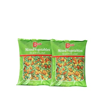 Delight Mixed Vegetable 400g Pack of 2