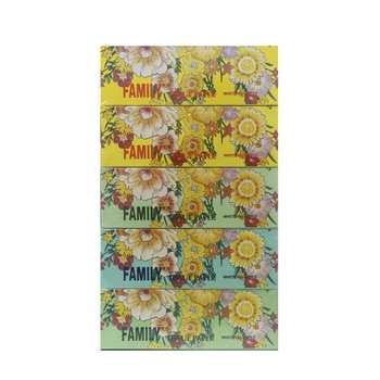 Family Tissue Paper 150x2 ply 5pcs