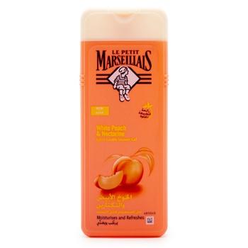 Le Petit Marseiliais White Peach & Nectarine Shower Gel 400ml