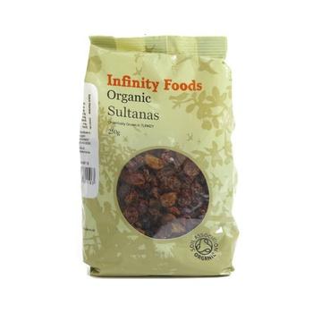 Infinity Foods Organic Sultanas 250g