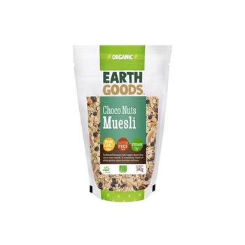 Earth Goods Organic Gluten-Free Choco Nuts Muesli 340g