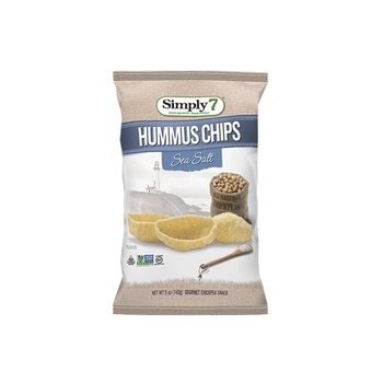 Simply7 Chips Hummus Sea Salt 4.6Oz