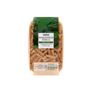 Tesco Whole Wheat Fusilli Pasta Twists 500g