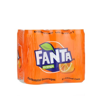 Fanta Orange 6x330ml