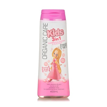 Organic Care Kids 3 In 1 Berry Bliss 400ml