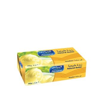 Almarai Natural Butter Unsalted 400g