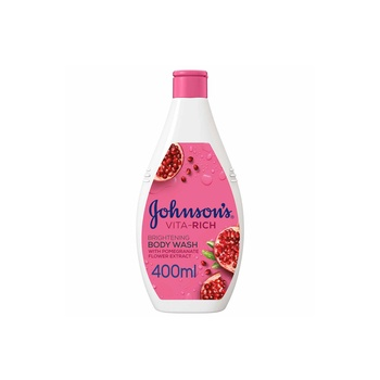 Johnson Body Care Vita-Rich Body Wash Pomegranate Flower 400ml