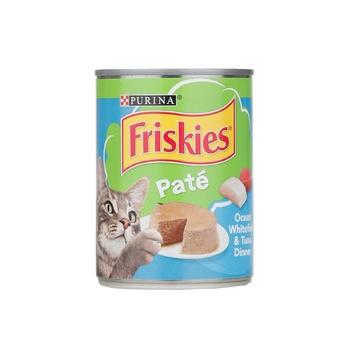 Purina Friskies Ocean White Fish & Tuna Dinner 368g
