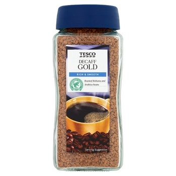 Tesco Gold De/Caff Instant Coffee 100g