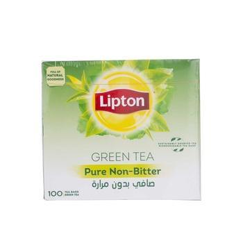Lipton Green Tea Non Bitter Env 100X1.5gm
