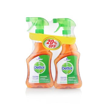 Dettol Anti-Bacterial Surface Disinfectant Trigger 2 x 500 ml @ 20% Off