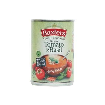 Baxters soup italian tomato basil soup 400g