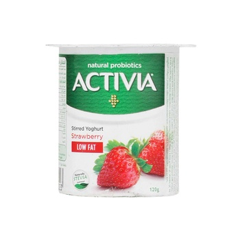 Activia Yoghurt Strwberry Light 120g