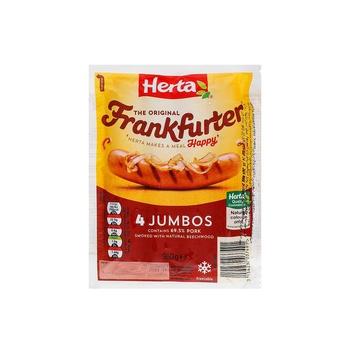 Herta Frankfurters Jumbos 4s 360g