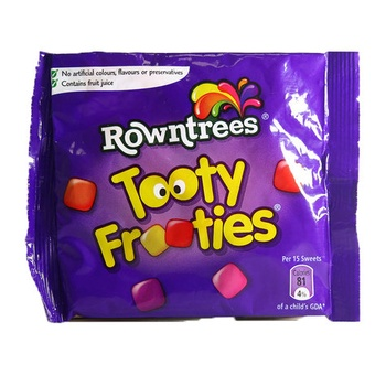 Rowntrees Tooty Frooties 15pcs