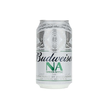 Budweiser Non-Alcoholic Malt Beverages Apple Can 355 ml