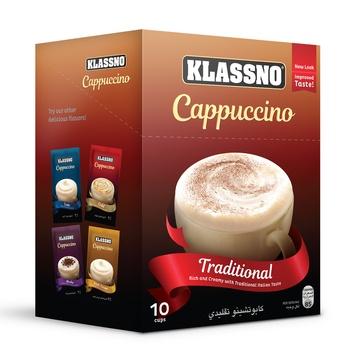 Klassno Cappuccino-Traditional 8X18g