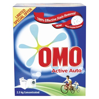 Omo Active Auto Front Loading 2.5kg