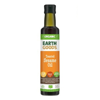 Earth Goods Organic Toasted Sesame Oil 250ml