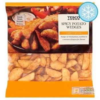 Tesco Spicy Potato Wedges 750g