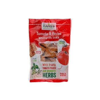 Dr Kargs Whole Grain Snack Tom & Herbs 110G