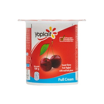 Yoplait Fruit Yoghurt Fullfat Sweet Cherries -120g