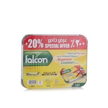 Falcon Aluminum Container 131/73365 10 + 2 pcs Free