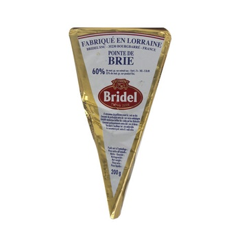 Brie Bridel Portion Cheese