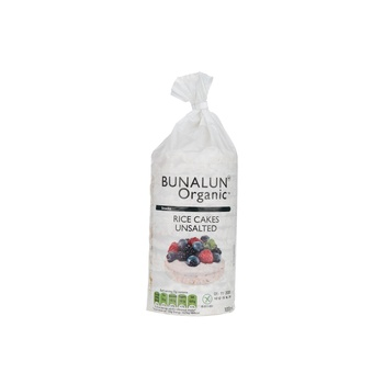 Bunalun Organic Unsalted Rice Cakes 100g