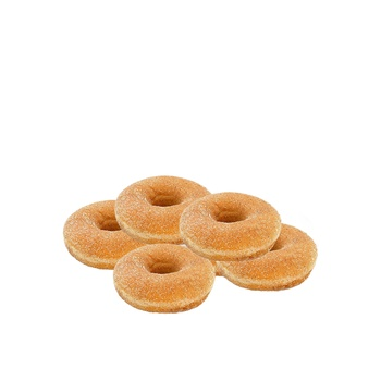 Vienna bakery ring doughnut snow sugar 5 pcs
