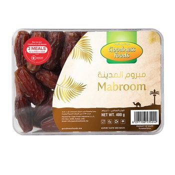 Goodness Foods Mabroom Dates 400g