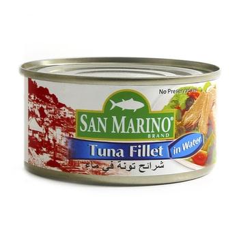 San Marino Tuna Fillet In Water 180g
