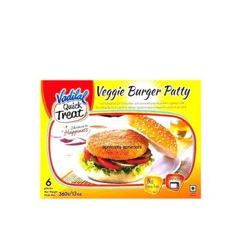 Vadilal Veggie Burger Patty 360g