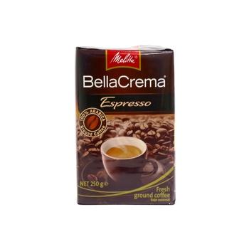 Melitta Bellacrema Espresso Ground Coffee 250g