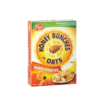 Post Honey Bunches Of Oats Honey Roasted 14.5 OZ
