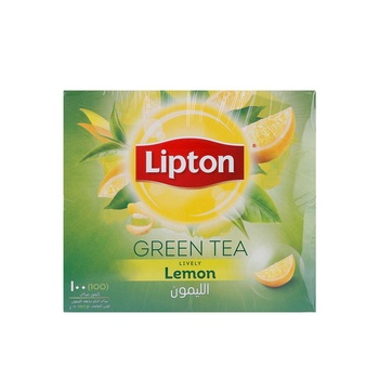 Lipton Clear Green Tea Lemon 100pcs