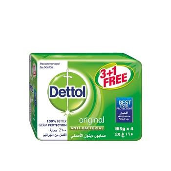Dettol Soap Original 4x165g