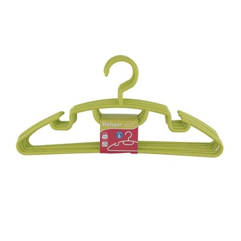JCJ Plastic Hanger 6 Pc Set  # 1179